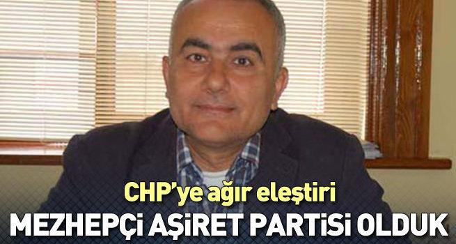 CHP'ye 'aşiretçi ve mezhepçi' suçlaması