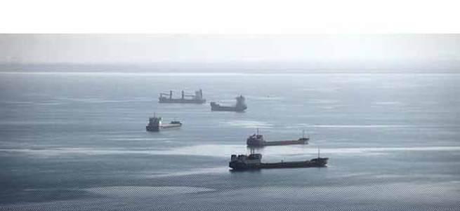 Türkiye Rus gemilerini limanda bekletiyor