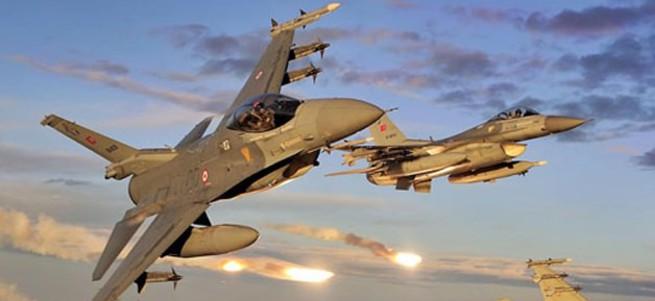 TSK'dan hava operasyonu! F16'lar vurdu