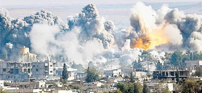 Ruslar Suriye'de 403 sivil öldürdü