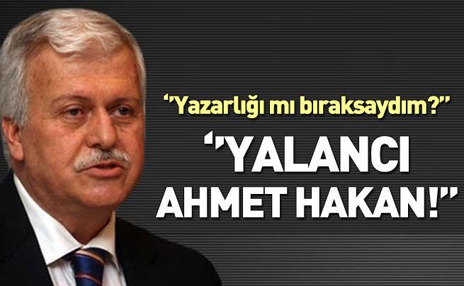 Gülerce'den Ahmet Hakan'a cevap
