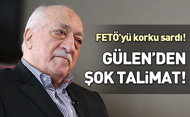 Gülen'den 'ülkeyi terk edin' talimatı