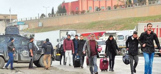 Cizre ve Silopi'de okullar boş kaldı