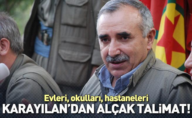 PKK'dan 'yerle bir edin' talimatı!