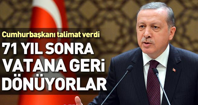 Cumhurbaşkanı talimat verdi, Ahıska Türkleri vatana kavuşuyor