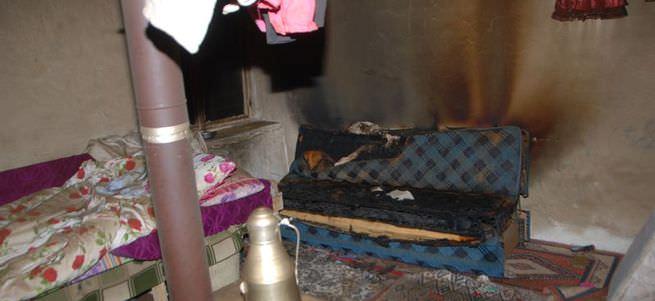 Aydın'da soba devrildi 2 çocuk öldü