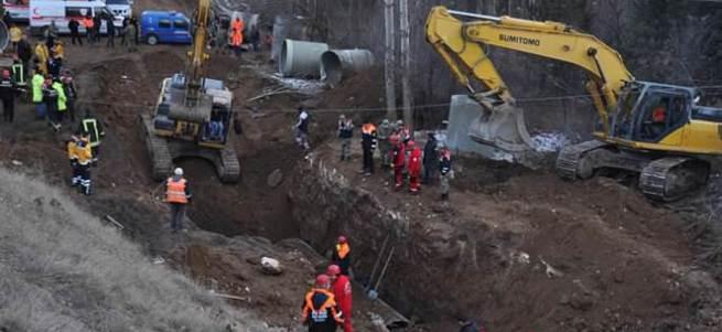 Sivas'ta su kanalında göçük: 3 ölü