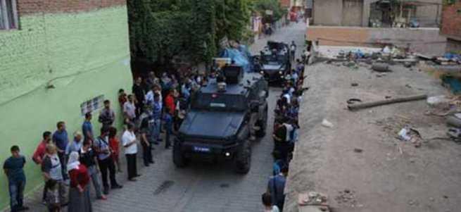 Sur'un Gazi caddesinde yasak kalktı