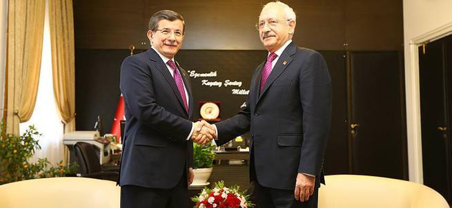 Davutoğlu - Kılıçdaroğlu görüşmesi sona erdi!