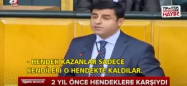 Demirtaş'ın ikiyüzlülüğünü ortaya koyan görüntüler!