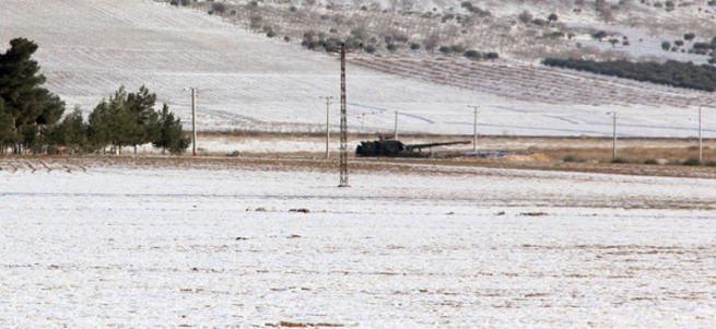 Suriye sınırında askere 'vur' emri