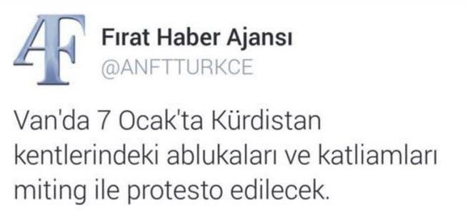 PKK'nın sitesi AK Parti mitingini sahiplendi!
