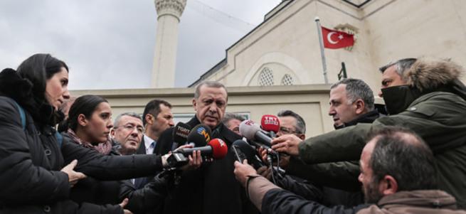 Cumhurbaşkanı Erdoğan'dan Rusya'ya Başika tepkisi
