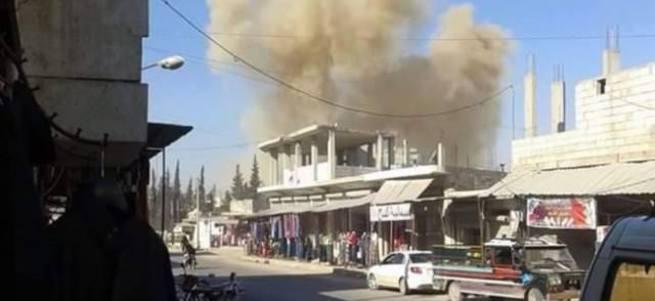 Rus jetleri okul bombaladı, onlarca ölü var
