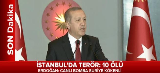 Cumhurbaşkanı Erdoğan'dan patlamayla ilgili ilk açıklama