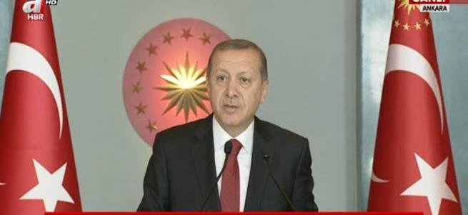 Cumhurbaşkanı Erdoğan'dan sözde aydınlara sert tepki