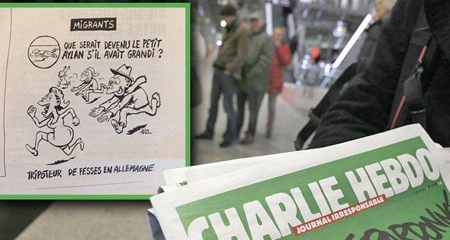 Charlie Hebdo'dan bir skandal daha!