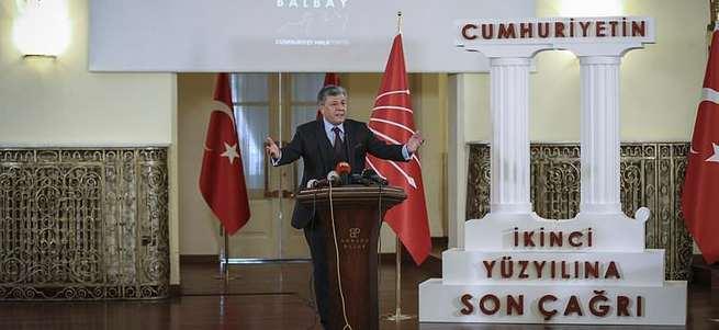 Mustafa Balbay aday olamadı!
