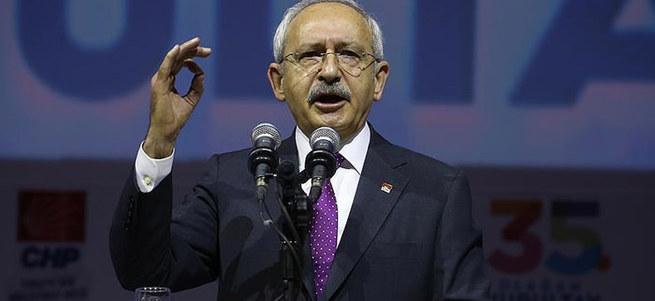 AK Parti'liler CHP Kurultayı'nı terk etti!