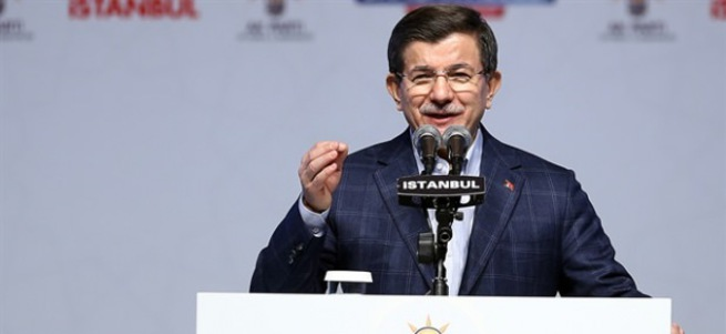 Davutoğlu İl Danışma Meclisi'nde konuştu