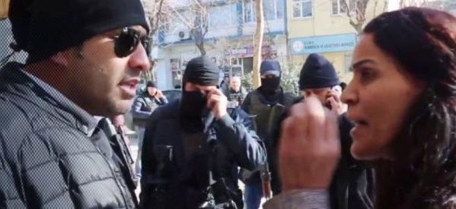 Polis amiri ile HDP'li vekil arasında sert tartışma!