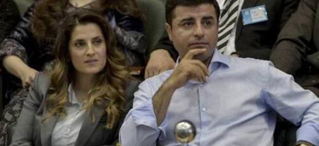 Selahattin Demirtaş'ın eşiyle ilgili skandal büyüyor