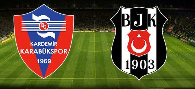 Kardemir Karabükspor - Beşiktaş maçı ne zaman hangi kanalda saat kaçta oynayacak?