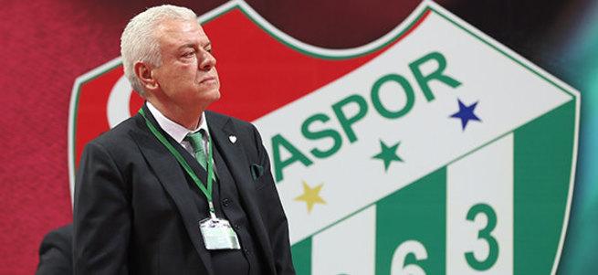 Bursaspor'un yeni başkanı Ali Ay oldu