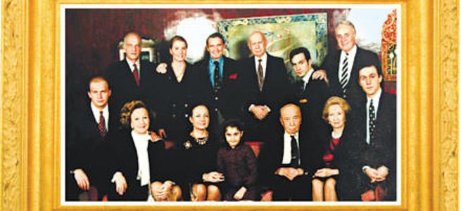 Koç Ailesi'nin 1991 yılında çekilen fotoğrafı
