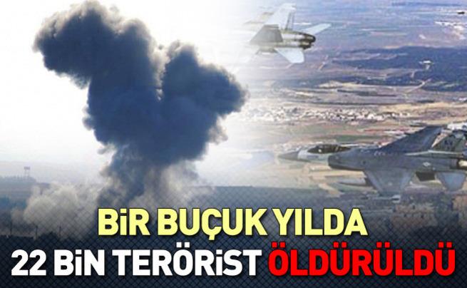 22 bin DAEŞ militanı öldürüldü