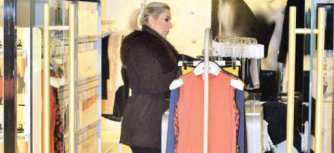 Seda Sayan parası olmadığı için alışveriş yapamadı