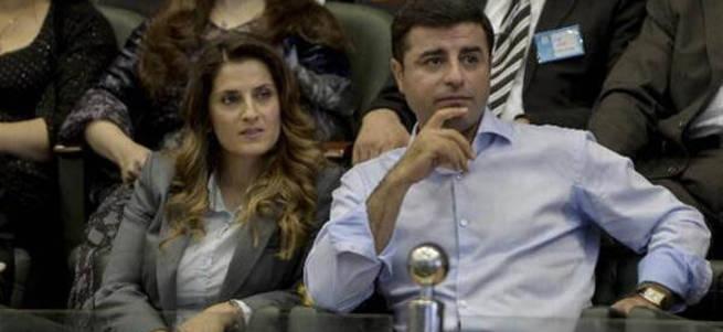Demirtaş'ın eşine soruşturma açıldı