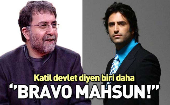 Mahsun Kırmızıgül'e Ahmet Hakan destek oldu