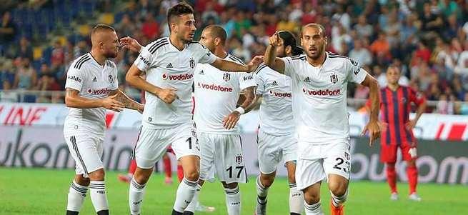 Beşiktaş'ın yeni transferleri sahada