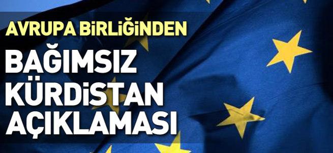 AB: Bağımsız Kürdistan'ı desteklemiyoruz!
