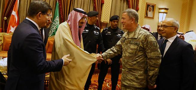 Hulusi Akar, Riyad heyetinde!