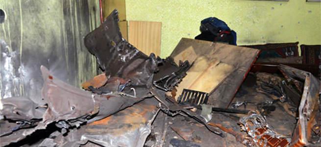 Odun diye yaktılar bomba çıktı! 7 yaralı!