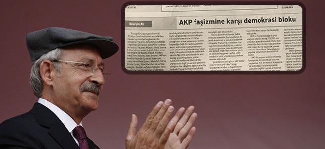 CHP ve PKK'nın dili aynı