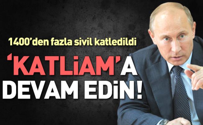 Lavrov: Operasyonlar devam edecek