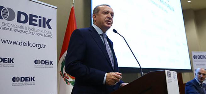 Erdoğan'ın IMF'yle ilgili sözleri salonda büyük alkış aldı