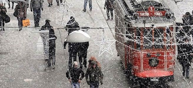 Kar İstanbul'a Trakya'dan giriş yapacak