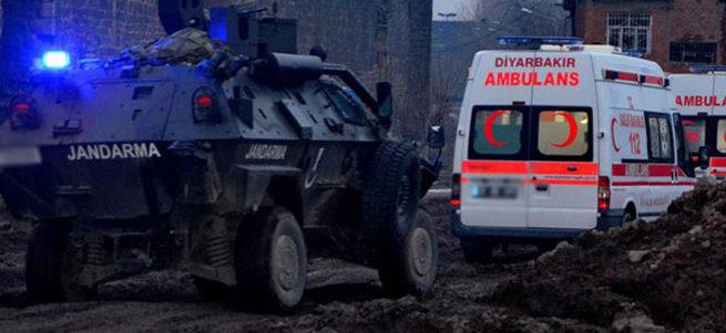 Sur ve Cizre'den acı haber: 3 şehit