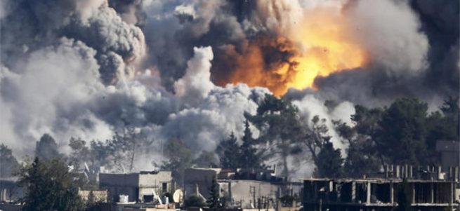 Rusya: Halep'i biz değil ABD bombaladı