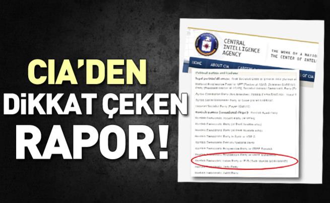 CIA: PYD illegal bir örgüt