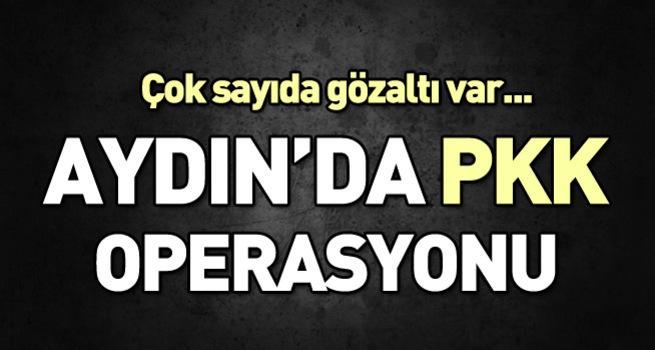 Aydın'da PKK operasyonu: 17 gözaltı