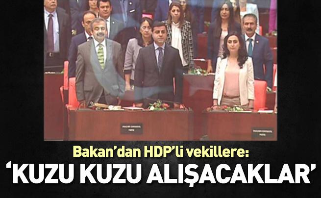 Bakan Soylu'dan HDP'li vekillere: Kuzu kuzu alışacaksınız