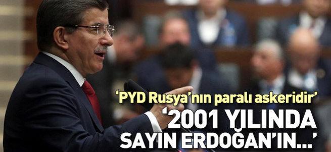 Davutoğlu: 2001 yılında Erdoğan'ın öncülüğünde yola çıktık