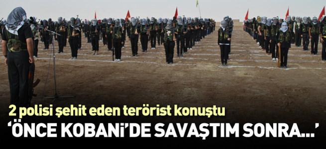 İki polisi şehit eden terörist PYD'den suikast eğitimi almış