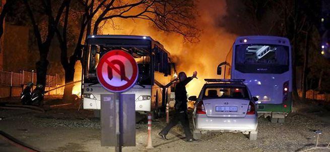 Ankara'daki hain saldırı Rus basınında