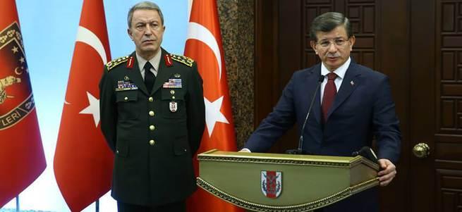 Davutoğlu'ndan ABD'ye YPG tepkisi